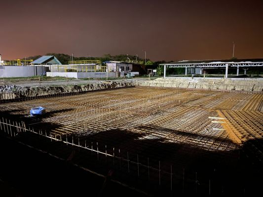 Ongoing Sewerage Treatment Plant Construction Service