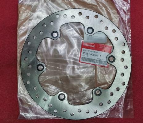 RS150R V1-V4/WINNER150 FRONT DISC BRAKE PLATE DISK, FR. BRAKE(SUNSTAR) 100 %ORIGINAL 45251-K56-N11(CNJE)