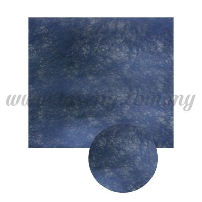 Wrapping Paper Non Woven - Blue 1 piece (PD-WP3-B)