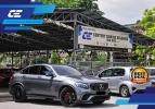 MERCEDES BENZ GLC43 COUPE 3.0L V6 2019 GLC43 MERCEDES