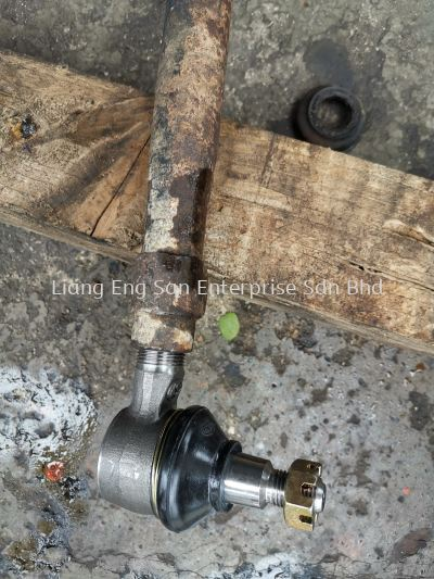 CHANGE TIE ROD END BALL JOINT