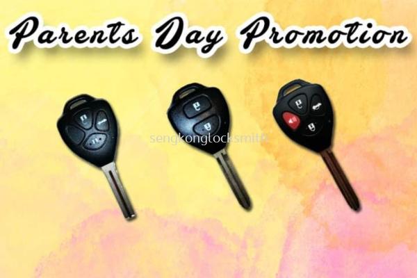 promotion Toyota car key control