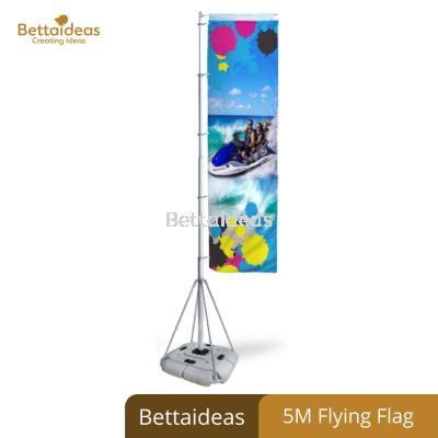 Outdoor 5M Flying Flag Banner