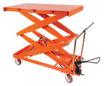 1 ton GEOLIFT Manual Lift Table - LTD100 (Germany Hydraulic Pump System)