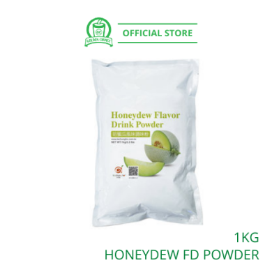 Honeydew Flavor Drink Powder 1kg- Taiwan Imported | Flavor Bubble Tea | Smoothies | Ice Blended