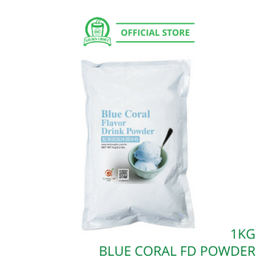 Blue Coral Flavor Drink Powder 1kg- Taiwan Imported | Flavor Bubble Tea | Smoothies | Ice Blended