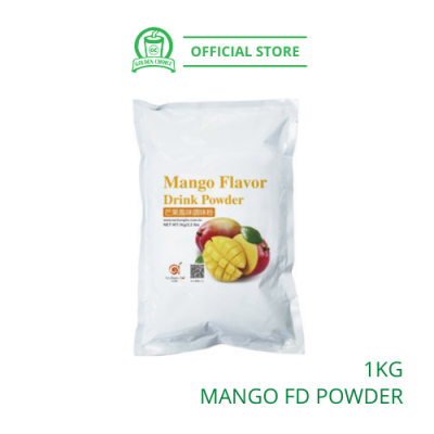 Mango Flavor Drink Powder 1kg- Taiwan Imported | Flavor Bubble Tea | Smoothies | Ice Blended