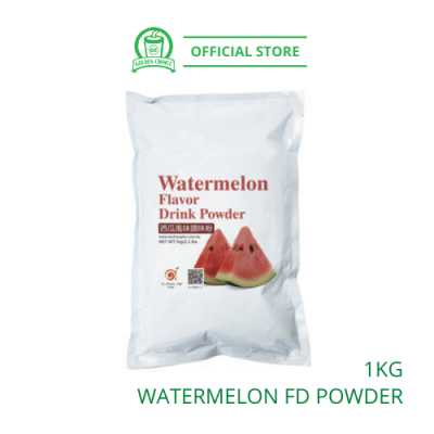 Watermelon Flavor Drink Powder 1kg - Taiwan Imported | Flavor Bubble Tea | Smoothies | Ice Blended