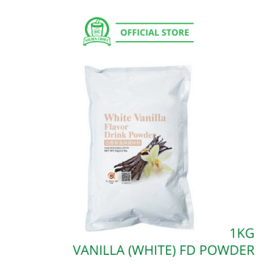 Vanilla (White) Flavor Drink Powder 1kg - Taiwan Imported | Flavor Bubble Tea | Smoothies | Ice Blended
