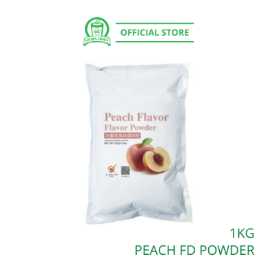 Peach Flavor Drink Powder 1kg - Taiwan Imported | Flavor Bubble Tea | Smoothies | Ice Blended