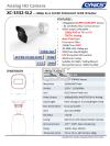 Cynics 2MP 4 In 1 Super Starlight WDR IR Bullet Camera XC-3332-SL2 IR Bullet / Dome Camera Cynics CCTV System