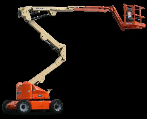 JLG E450AJ BOOMLIFT 15.5 METER