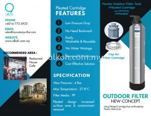 Outdoor Filter New Concept