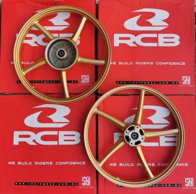 SPORTS RIM RACING BOY SP522 LC135/LC4S/SPARK135 F140X17R160X17 GOLD 01S0275G (MKAIIEE)