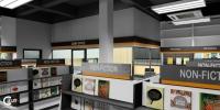 Bookshop at Sungai Petani Bookshop 2. Commercial Project