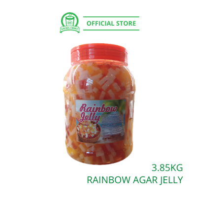 RAINBOW JELLY AGAR 3.85KG - Topping | Stick Shape | Colorful