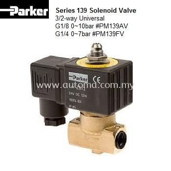 3/2-way Solenoid Valve G1/8 0~10bar #PM139AV-ZB09/12