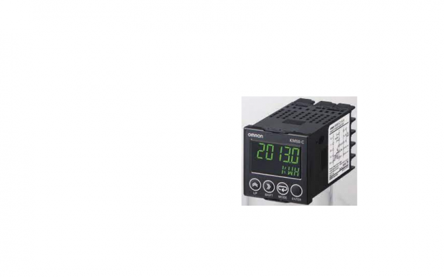 Omron KM50-C  Power and current can be measured simultaneously. Measurement of generated power (regenerati