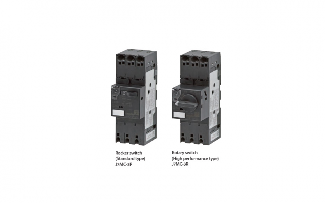 OMRON J7MC Series MPCB system, protection from Overload, Phase failure and Short Circuit