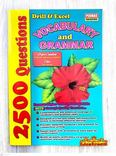 2500 Questions Vocabulary & Grammar