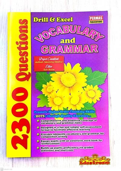 2300 Questions Vocabulary & Grammar