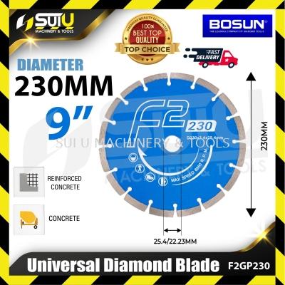 BOSUN B09-F2GP-230 9'' Universal Diamond Blade