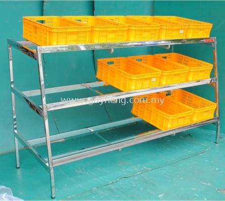 Stainless Steel Fruit or Vegetable Display Rack ��ˮ���߲�չʾ��