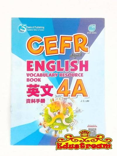 CEFR ALIGNED ENGLISH VOCABULARY RESOURCE BOOK 4A
