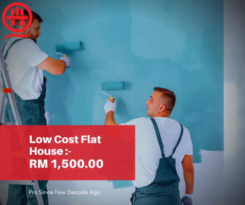 Book Now- Painting Contractor For Rumah Flat In Malaysia.