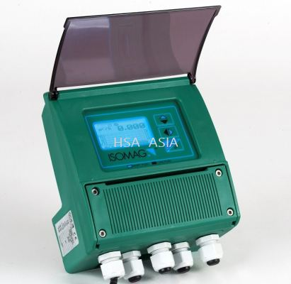 CONVERTER WITH DISPLAY FOR MAGNETIC FLOW METERS MV110 ISOMAG
