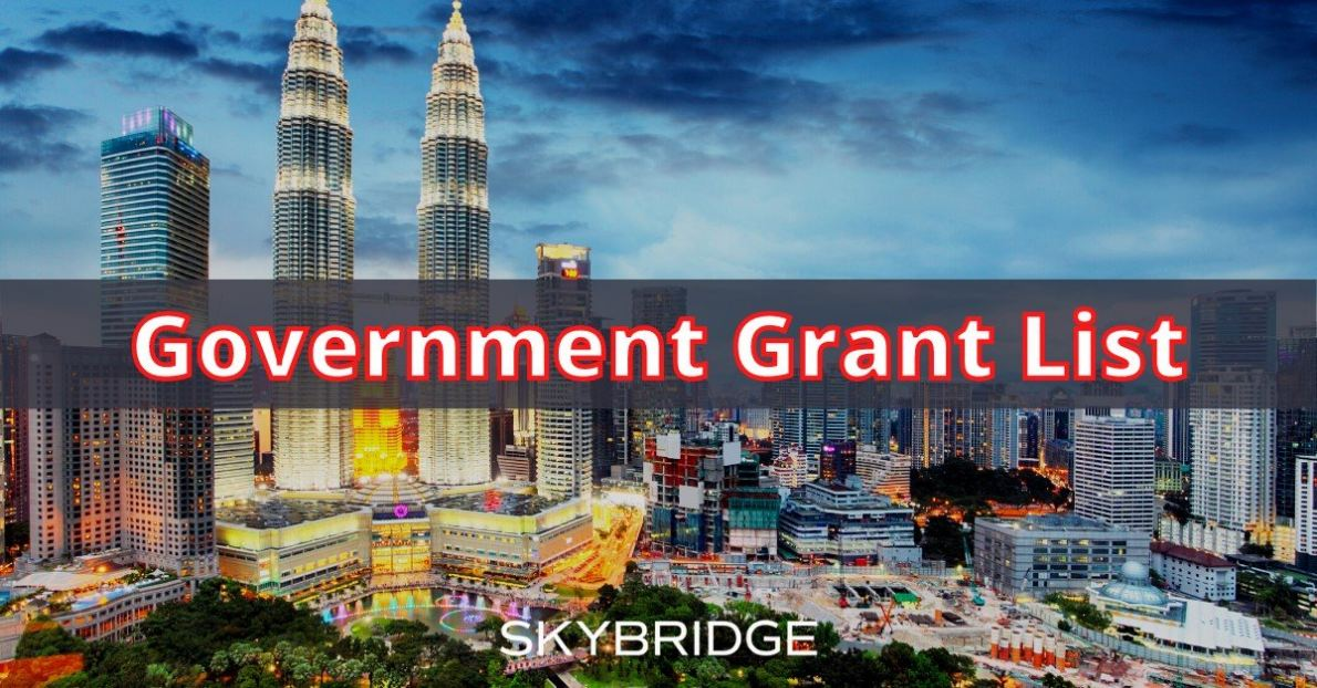 All Latest Government Grant list updated at 28/5/2021