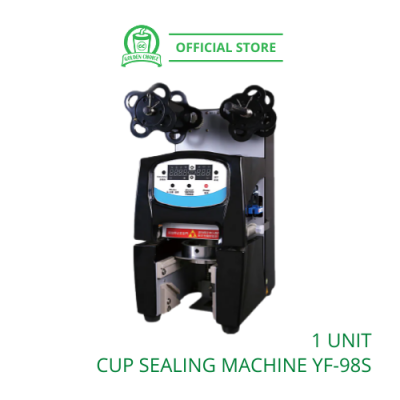 Cup Sealer Machine Auto YF-98S 智能封杯机 - Taiwan Imported | Auto| Takeaway | PP Cup | Cup Sealer