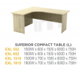 EX SUPERION COMPACT TABLE(L) EX SERIES TABLE Office Furniture