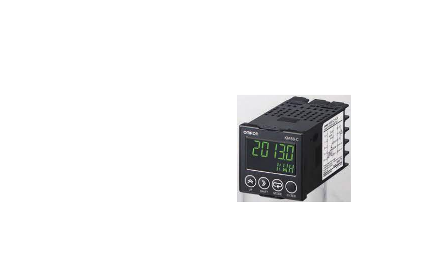Omron KM50-C  Power and current can be measured simultaneously. Measurement of generated power (rege