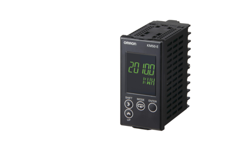 Omron KM50-E Power and current can be measured simultaneously. Measurement of generated power (regen
