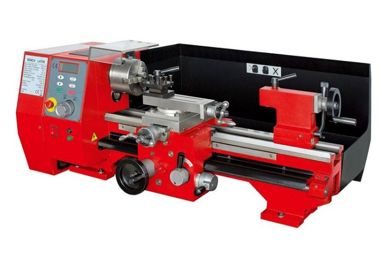 SIEG 550MM BENCH LATHE 1000W 230V C/W STD ACCES  (125MM 3 JAW CHUCK, OIL CAN,  WRENCH SET, SC6-550