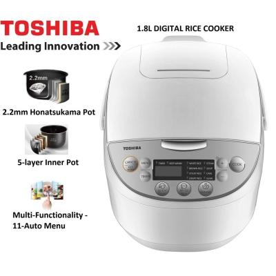 Toshiba 1.8L Jar Digital Rice Cooker TSB-RC18DH1NMY