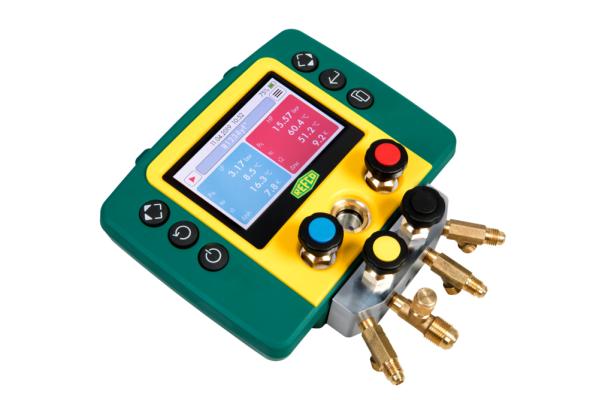 REFCO REFMATE 4 Four Way Digital Manifold w/o Charging & Vacuum Hose