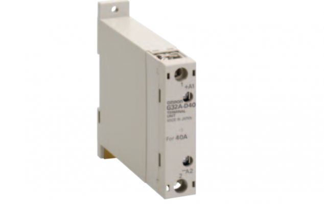 OMRON G32A-D Allows 2-wire Switching of 3-phase Power