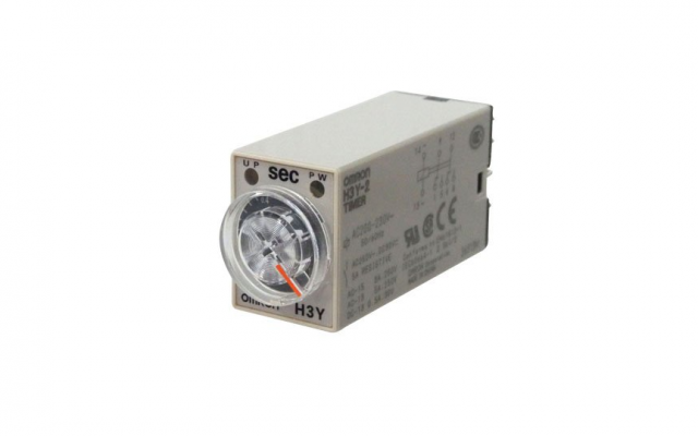 OMRON H3Y-[]-B Our Value Design Products Increase the Value of Your Control Panels. Miniature Timer