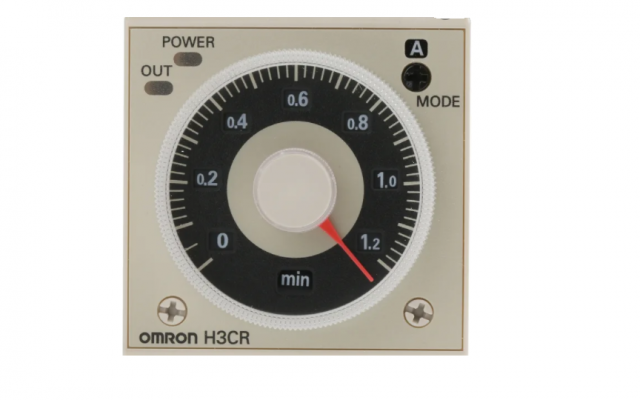 OMRON H3CR-H DIN 48 �� 48-mm Power OFF-delay Timer