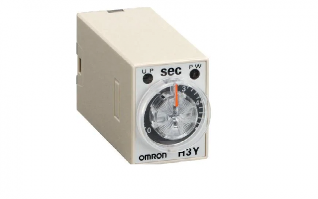 OMRON H3Y Miniature Timer Compatible with the MY Relay