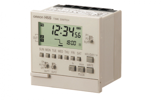 OMRON H5S  Easier, More Convenient Time Switches, with New 4-circuit Output and Yearly Models in Add