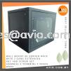 Wall Mount 9U Server Rack with 3 Gang Extension Key and Screw Set 460mm(H) x 550mm(W) x 500(D) WM9U RACK
