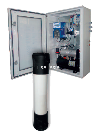 UF-TEC - FILTRATION SYSTEM WHICH ALLOWS SAMPLE FEEDING OF COLOR TEC OR SIMILAR ANALYZERS