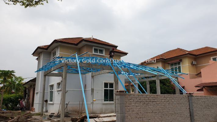 Roof trusses work.