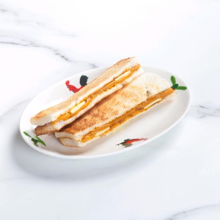 GOLDEN PUMPKIN KAYA BUTTER TOAST 金瓜牛油香烤面包