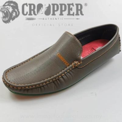 CROOPPER Men Mocassin CM-83-8012 KHAKI Colour