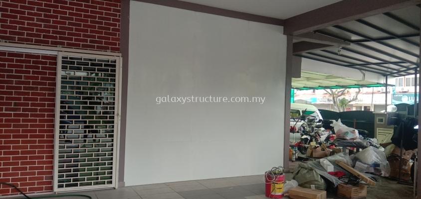 To fabrication supply and install mild steel full plate door @ Jalan SS 19/6, SS19, 47500 Subang Jaya.
