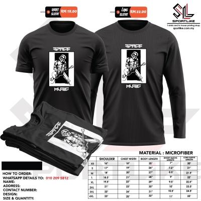 "Sportlike Statement Jersey Mens T-shirt ""Space Music "" size XS-4XL avaialable"